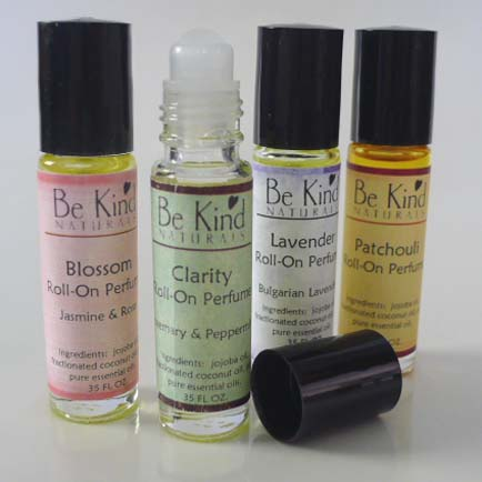 how to make essential oil perfume at home